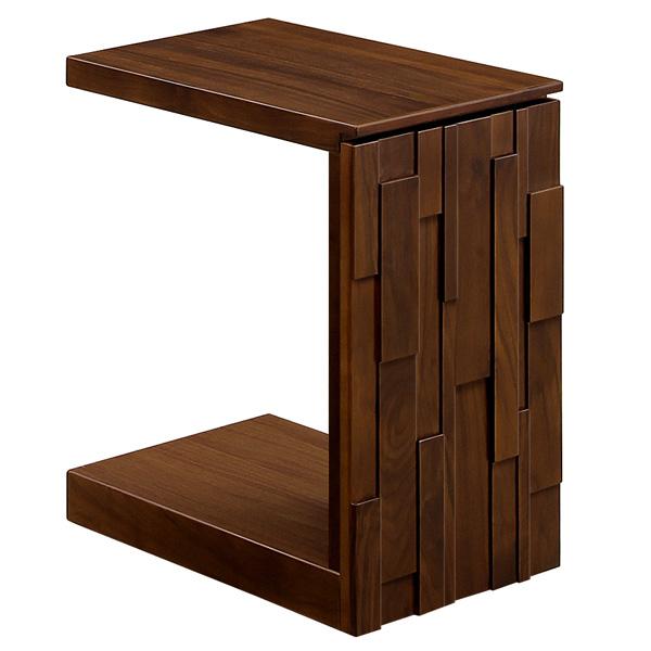 サイドテーブル おしゃれ 北欧 ベッドサイドテーブル キャスター付き IRIS イーリス 34サイドテーブル