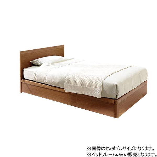 日本ベッド 引出し付ベッドフレーム フレームのみ ダブルサイズ シェルフタイプ【STANZA SHELF(スタンザシェルフ) GDR】 収納 棚付 引出し3杯付 スタンダードデザイン/収納力抜群/2口コンセント