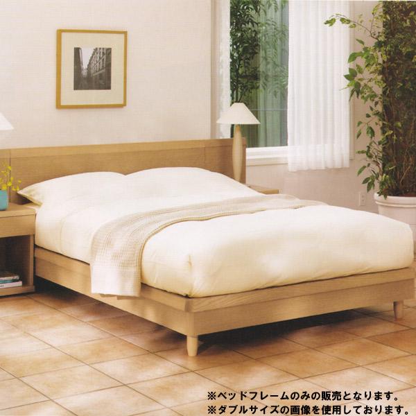 日本ベッド ベッドフレーム フレームのみ セミダブルサイズ フラットタイプ【【STANZA(スタンザ) GFE】 引出し無 スタンダードデザイン/3色/レッグタイプ