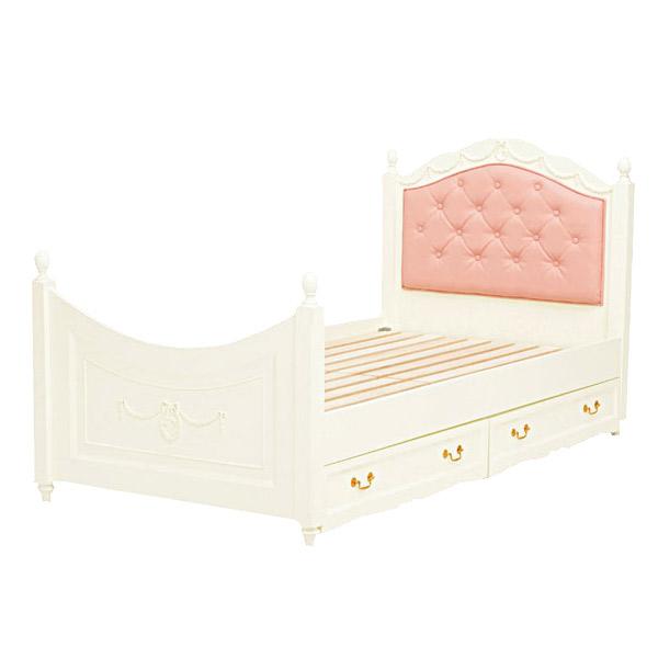 収納ベッド 【VIOLETTA】 RB-1855WH 木製 ベッドフレーム 収納 寝室