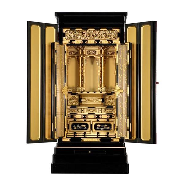 仏壇 金仏 京型別台 金色塗料仕上 西【IP-00312】18×43号【送料無料】