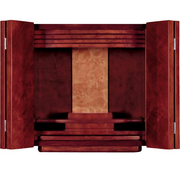 【価格交渉応じます】 仏壇 家具調仏壇 モダン仏壇 【ピュア】 紫檀調 上置 12×13号