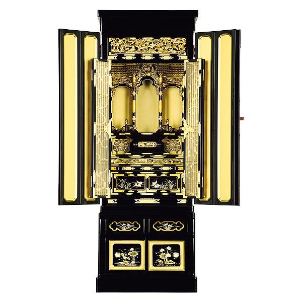 京型台付 【あざみ】 金色塗料仕上 東 金仏壇