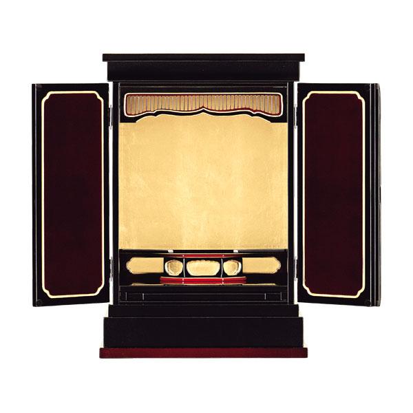 【お得なクーポン配布中★】塗りモダン上置 【幸寿】 二枚戸 紅溜塗 モダン仏壇 現代のライフスタイルに合わせた新しい仏壇