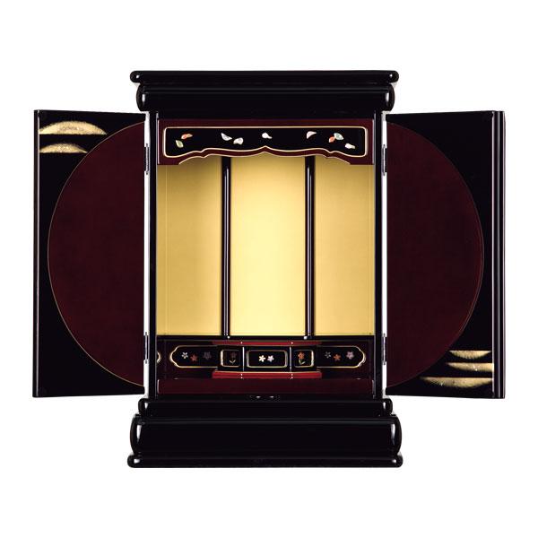 塗りモダン上置 【しまぐに2】 二枚戸 モダン仏壇 現代のライフスタイルに合わせた新しい仏壇