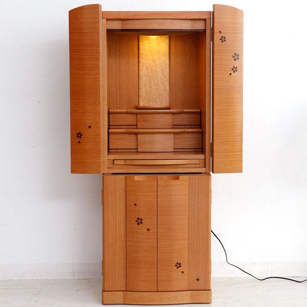 仏壇 モダン おしゃれ インテリア仏壇 家具調仏壇 マフィン 40-15 さくら