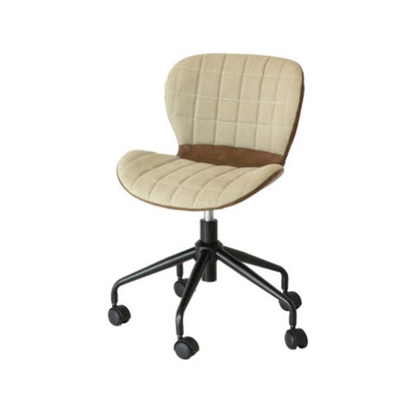 チェアー 椅子 【Rep】 レップ 【デスクチェア】 CH-2801BE-DBR キャスター付 昇降機能付