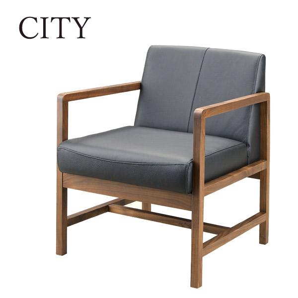 チェアー CITYシリーズ 【C-40 LDチェアー BK】 Cityシリーズ/シティ/シティーシリーズ/モダン/高級/シック【送料無料】