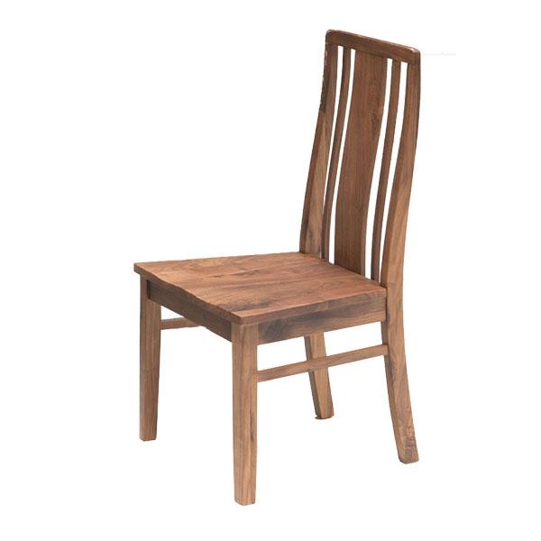 チェア ダイニング 椅子 イス 1脚 ウォールナット 木製 シンプル おしゃれ【Kitkat チェア】