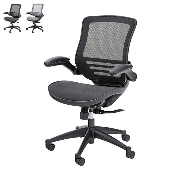 チェア【OFC-22BK/GY】オフィスチェア 椅子 イス パーソナルチェア パソコンチェアー