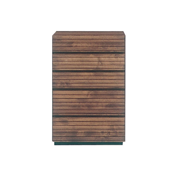 【お得なクーポン配布中★】チェスト 5段 スリム アルダー材 自然塗装 木製 シンプル おしゃれ【フェルサ 60-5チェスト】【送料無料】