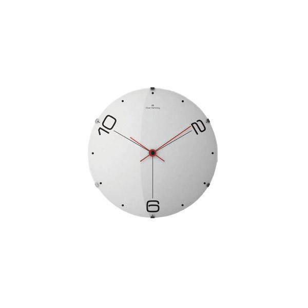 壁掛け時計 【ドームウォールクロック W500DG14W】 Oliver Hemming オリバーヘミング 【送料無料】