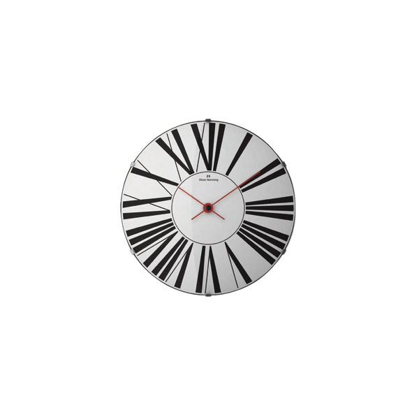 壁掛け時計 【ドームウォールクロック W500DG53W】 Oliver Hemming オリバーヘミング 【送料無料】