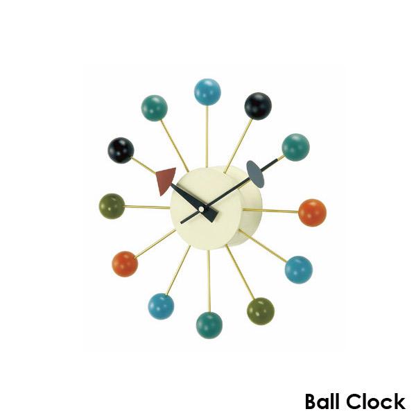壁掛け時計 【ボールクロック GN397C】 George Nelson ジョージネルソン 【送料無料】