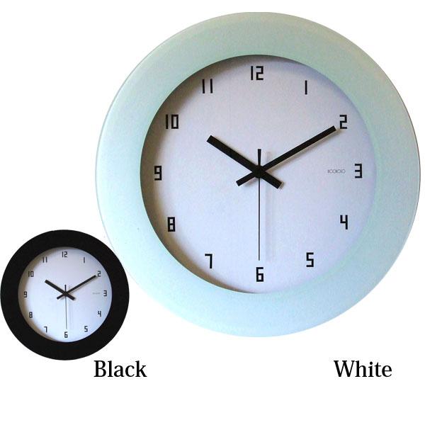 クロック 壁掛け 時計 【シュリアリステ 089 電波時計 ホワイト/ブラック】 【送料無料】