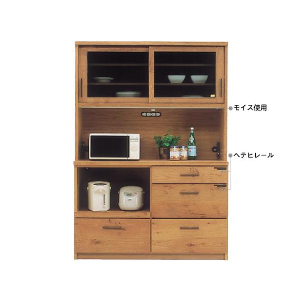 140OP 【ワールド】 OP オープンボード ダイニングボード 食器棚 天然木 オーク材使用