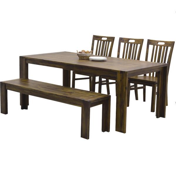 180テーブル【ハドソン】 ダイニング テーブル アカシアウッド 180cm テーブルのみ【送料無料】