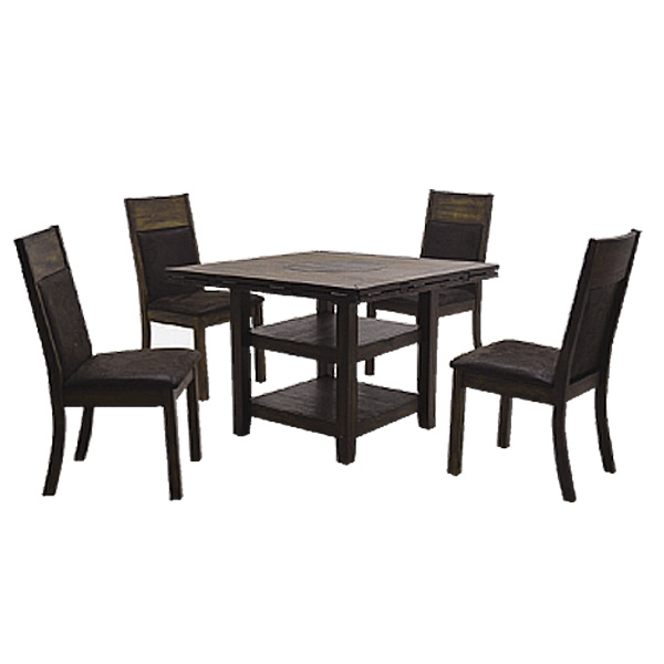 マルチテーブル5点セット(ノーマルタイプ) 【 Amazon アマゾン 】マルチテーブル チェアー(4脚) ダイニングテーブルセット