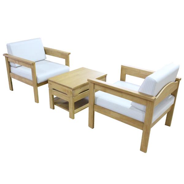 【受注生産】リビングテーブルセット 【トリプルソファ×2+トリプルセンターテーブル】