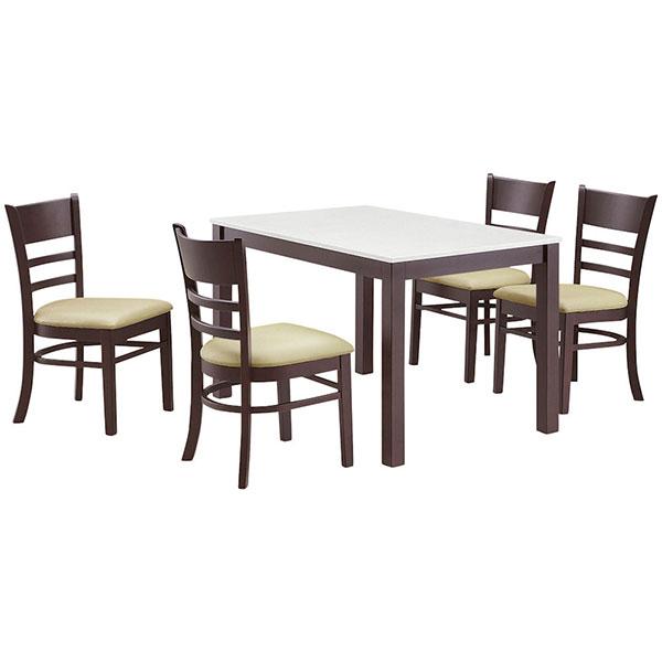 ダイニングセット ダイニングテーブルセット 食卓テーブルセット 【マテオ ダイニング5点セット】 幅115 ダイニング 食卓 【送料無料】
