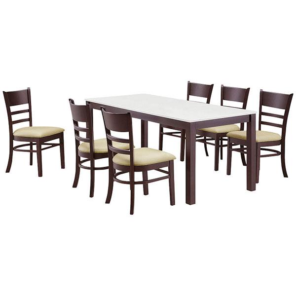 ダイニングセット ダイニングテーブルセット 食卓テーブルセット 【マテオ ダイニング7点セット】 幅165 ダイニング 食卓