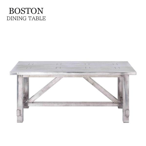 ダイニングテーブル 食卓テーブル 180cm幅 HALO(ハロー)【BOSTON ボストン ダイニングテーブル W180】 デザイナ―ズ家具/おしゃれ/ミッドセンチュリー