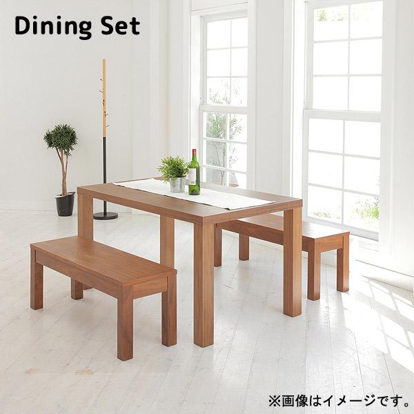 ダイニング3点セット【 EPISODE エピソード ダイニングテーブル 140+EPISODE エピソード ベンチ 110×2 】