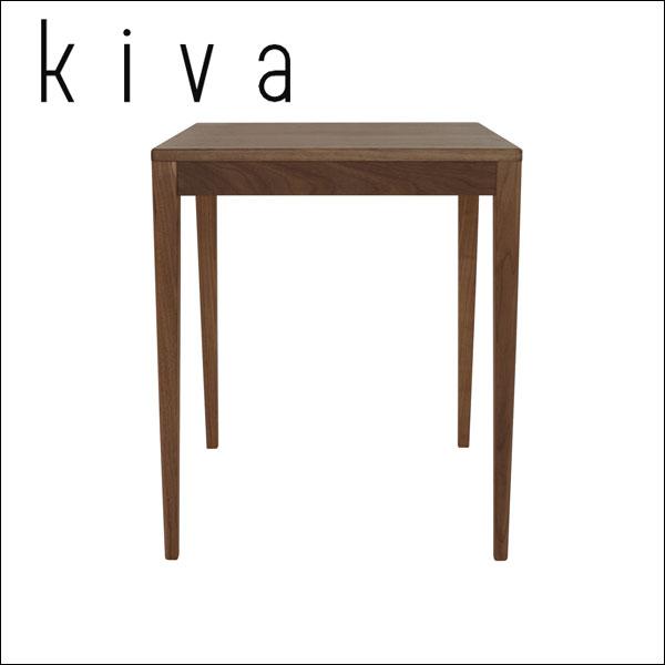 杉工場 国産 デスク 【kiva(キヴァ)シリーズ】 【ki-6w】 kiva6 ウォールナット 60cm幅 しなやかさとシャープさを備えたデザイン すぎこうじょう sugi 【送料無料】