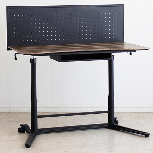 スタンディングデスク 【AN(アン) スタンディングデスク BR】パソコンデスク 高さ調節 昇降デスク 昇降式デスク PCデスク