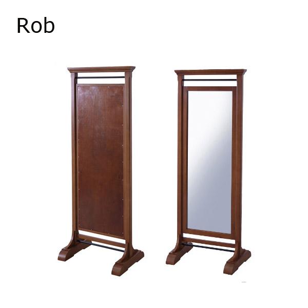 ミラー 【GUY-654】【ROB】ロブ 天然木 ミンディ シンプル 鏡 姿見 スタンドミラー