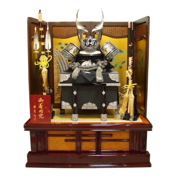 五月人形 兜飾り 平飾り 【693】【天竜25号】 着用兜 かぶと 5月人形 端午の節句 展示現品