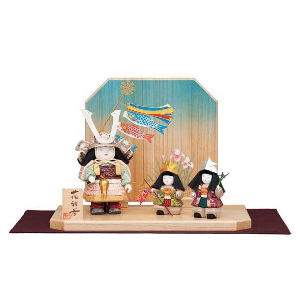 五月人形 兜 一秀 子供大将 武者人形 5月人形 モダン 初節句 男の子 端午の節句 【963K91】【M-1】 数量限定