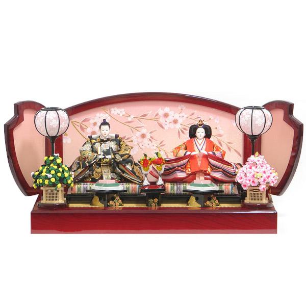 数量限定 雛人形 ひな人形 【443】 【41655】 衣裳着人形 桃の節句/ひな祭り/お雛様