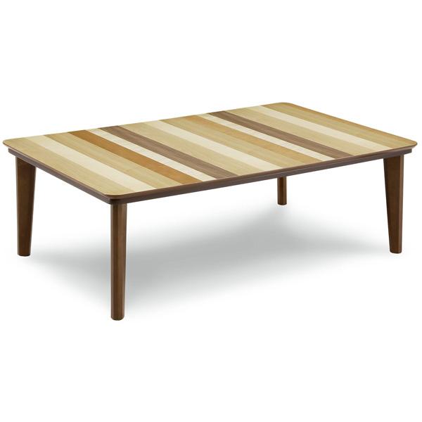 こたつテーブル こたつ本体 長方形 120×80 家具調こたつ おしゃれ (コニー 120) 炬燵/コタツ/リビングテーブル