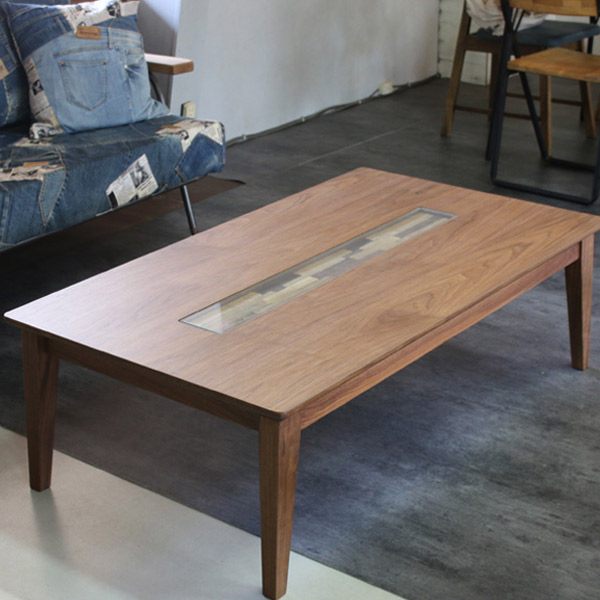 こたつテーブル 長方形こたつ 電気こたつ 120cm デザイン 家具調こたつ ローテーブル リビングテーブル おしゃれ 【エンブレムイズムウォールナット 120】 省エネ こたつ本体 こたつテーブル 日本製 デザイン 高級 木製