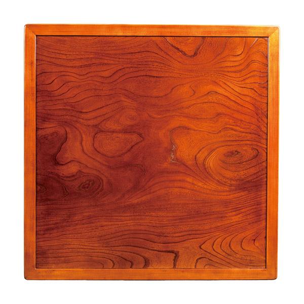 天板 正方形 天板のみ テーブル板 こたつ板 こたつ用天板 (こたつ板両面 105)