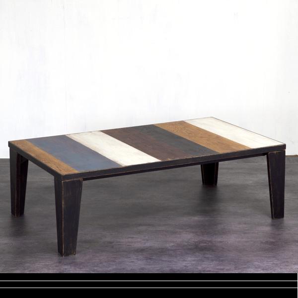 こたつテーブル おしゃれ デザイン ヴィンテージ ビンテージ テーブル 長方形 家具調こたつ ローテーブル こたつ本体 (FUN ファン 120(受注生産)) リビングテーブル 国産 日本製 手元コントローラー 暖房器具 木製