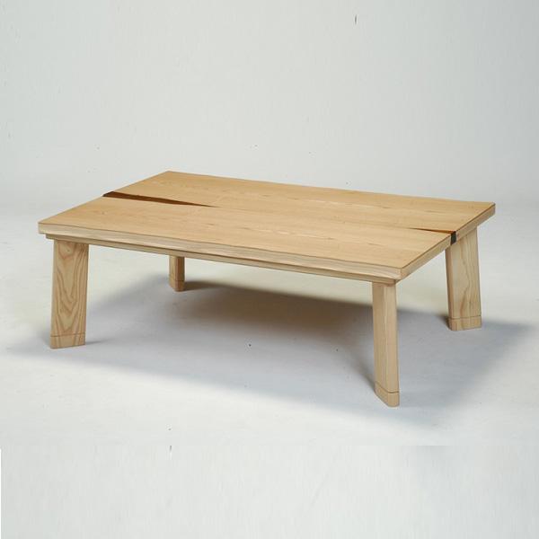 こたつ 長方形 120 こたつテーブル こたつ本体 (ピュア 120)