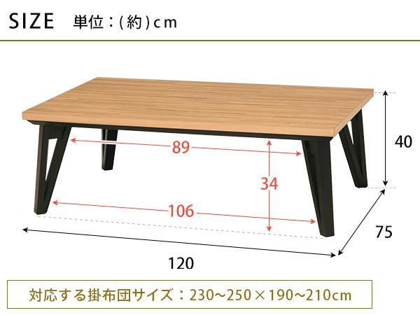 こたつ テーブル 長方形 こたつ本体 こたつテーブル カーボンヒーター カーボンフラット 省エネ フラットヒーター 幅120 手元コントローラー おしゃれな リビングこたつテーブル カジュアルこたつ 北欧 家具調こたつ モダンデザイン リビングテーブル RUNE ルーン 120