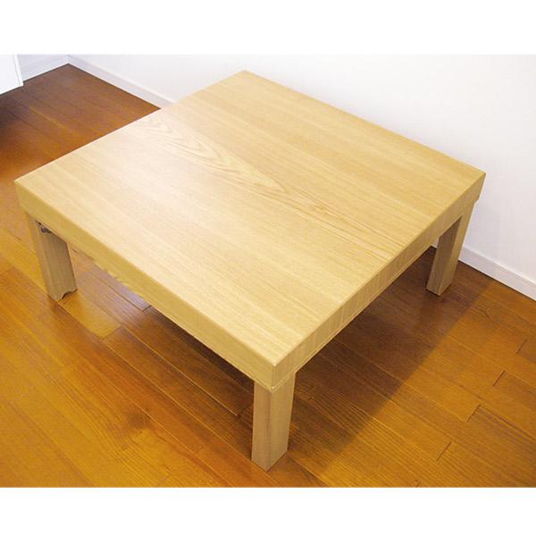 こたつ 正方形 折れ脚 折りたたみ 家具調こたつ こたつテーブル こたつ本体 おしゃれな テーブル ツインズ 90