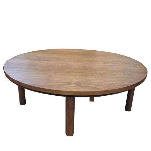 こたつ 丸形 円形 こたつ本体 こたつテーブル 家具調こたつ 炬燵 マカロン 105