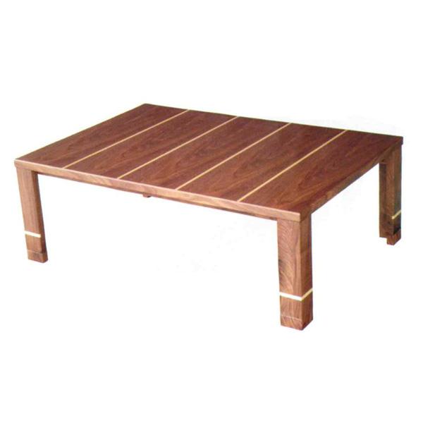 こたつ 長方形 テーブル 家具調 こたつ本体 こたつテーブル カシス 120