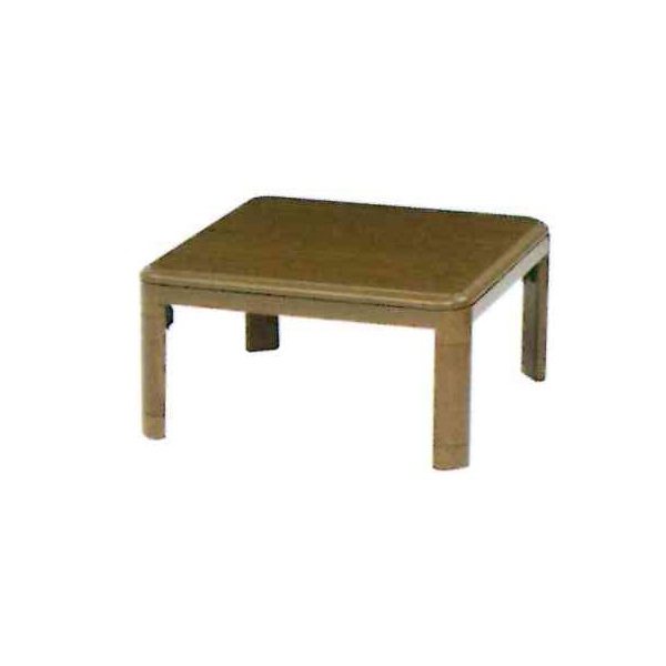 3/4 20時~ポイントアップ&限定クーポン配布中!こたつ 正方形 テーブル 本体 おしゃれ 家具調こたつ 電気こたつ ブレク 80