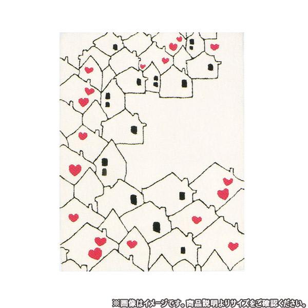 カーペット約100×140cm【ハッピータウン 1407-144】高級ラグ/長方形/おしゃれカーペット/マット/ラグ/ホットカーペットカバー対応