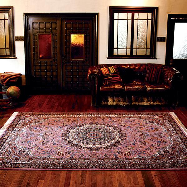 【お得なクーポン配布中★】長方形 カーペット 絨毯 【KASHAN カシャン】 ラグ/カーペット 約70×120cm イラン製 【送料無料】