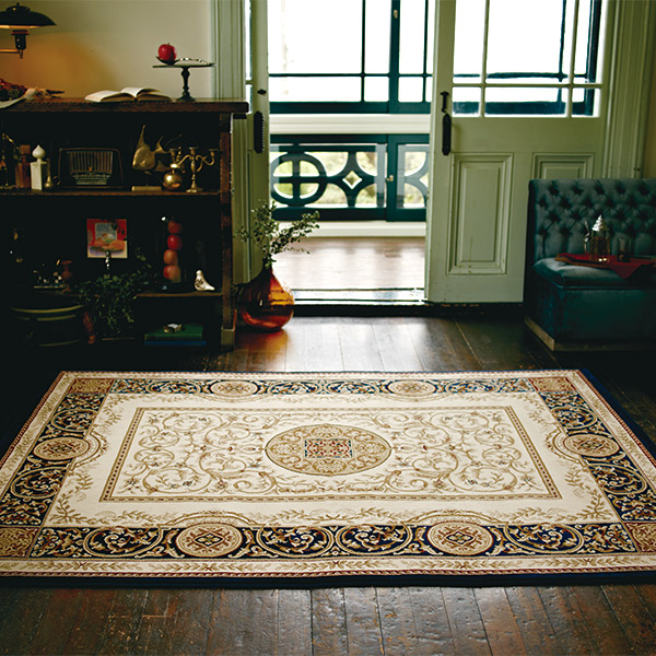 正方形 カーペット 絨毯 【AVANTE アバンテ】 ラグ/カーペット 約240×240cm ベルギー製 【送料無料】