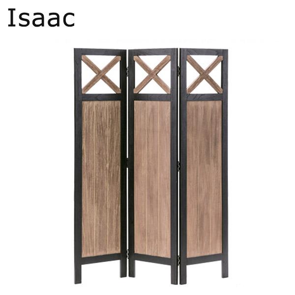 スクリーン3連【NW-862】【Isaac】アイザック スクリーン3連 天然木 ミンディ シンプル 衝立 パーテーション 木製 仕切り 目隠し