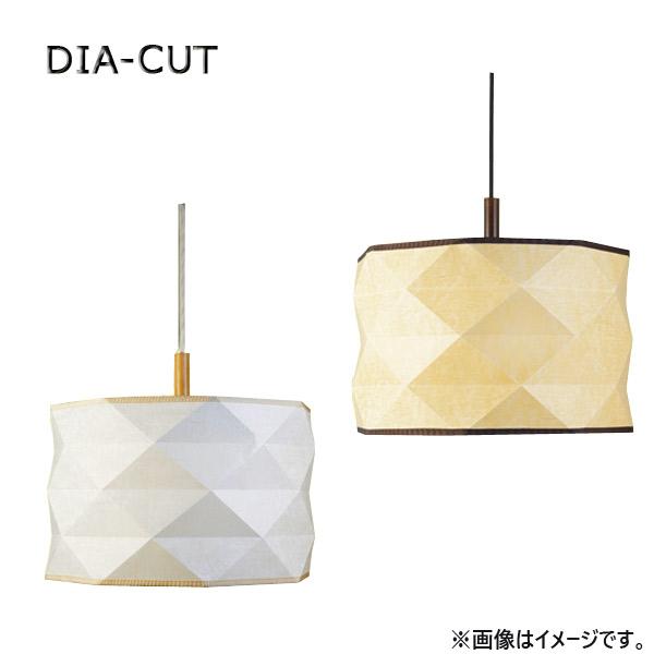 ペンダントランプ 照明 LED対応【オイルパーチ ダイヤカットL WH/BR】