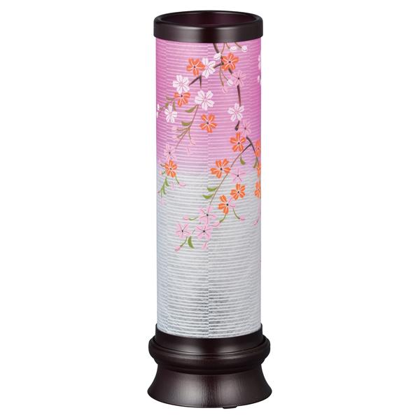 盆提灯 インテリア提灯 プリムラ1号(桜) お盆ちょうちん お盆用品 お盆用 電気コード式 新盆 初盆 提灯 おしゃれ