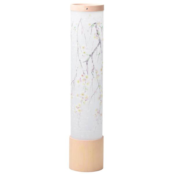 盆提灯 モダン提灯 初盆提灯 インテリア盆提灯 2090 峰520 柿渋 桃色(桜)